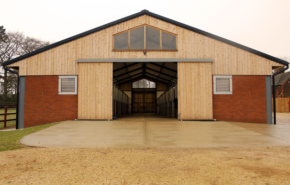 Equestrian Stable Blocks And Arenas East Anglia A C Bacon